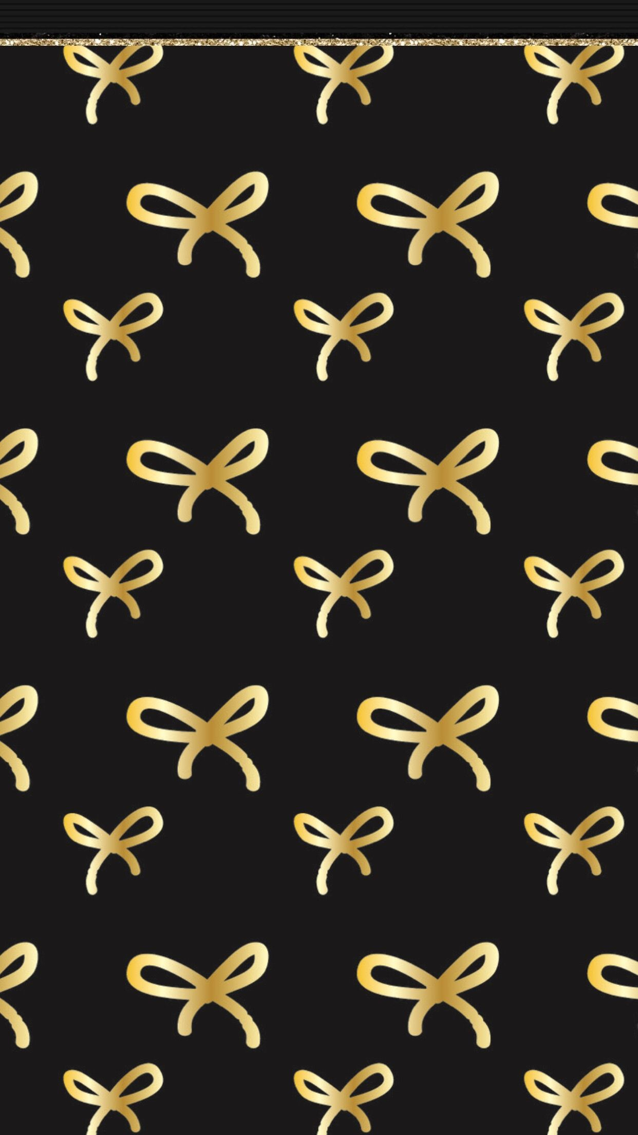 Black And Gold Christmas Wallpaper Iphone Tumblr Iphone Wallpaper Bow Wallpaper