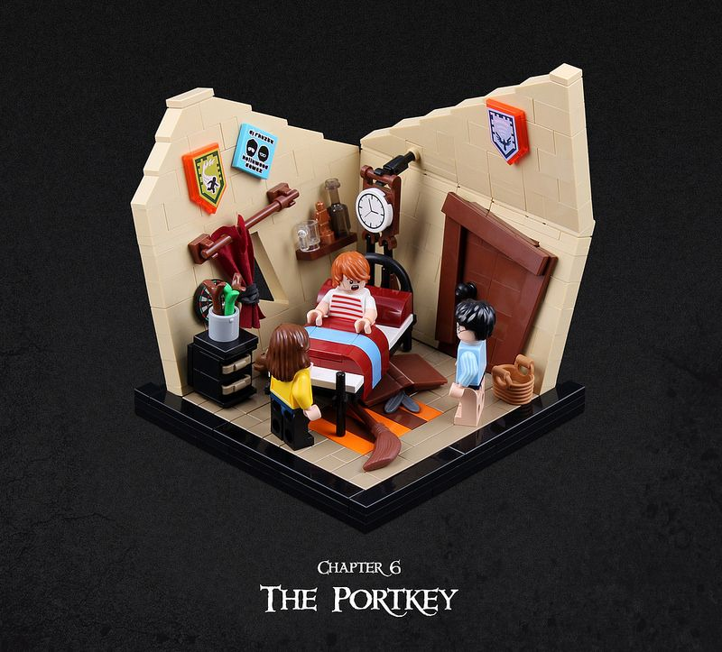Harry Potter And The Goblet Of Fire 02 Harry Potter Lego Sets Lego Harry Potter Moc Lego Harry Potter