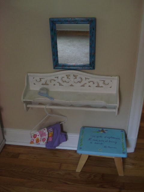 A Montessori Inspired Toddler Room Floating Shelves Rustic