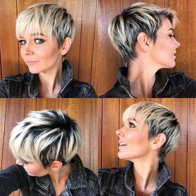 coiffures courtes 2019. des coupes à la mode et confortables