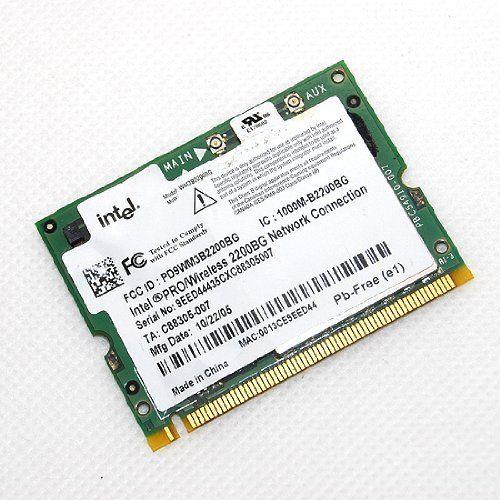 Intel PRO//Wireless 2200 2200BG 802.11b//g 54 Mbps Mini-PCI WIFI Card WM3B2200BG