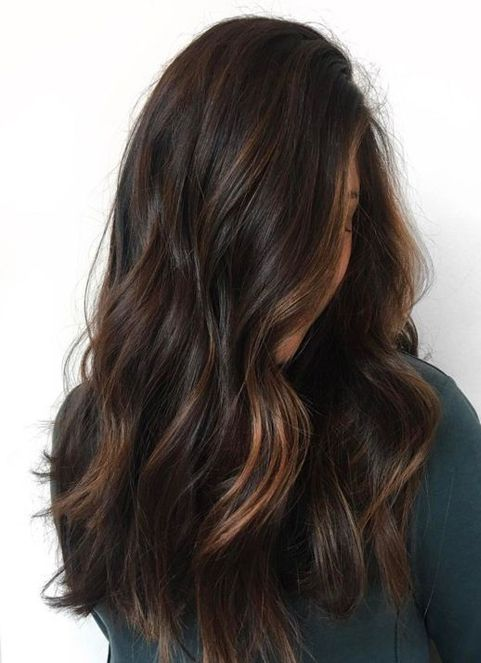 Subtle Caramel Balayage Hairstyles 2018 For Women Rich