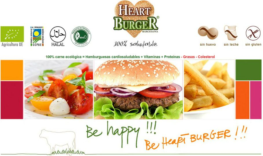 Heart Burger Barcelona On The Famous Gran Via Cealics Proof