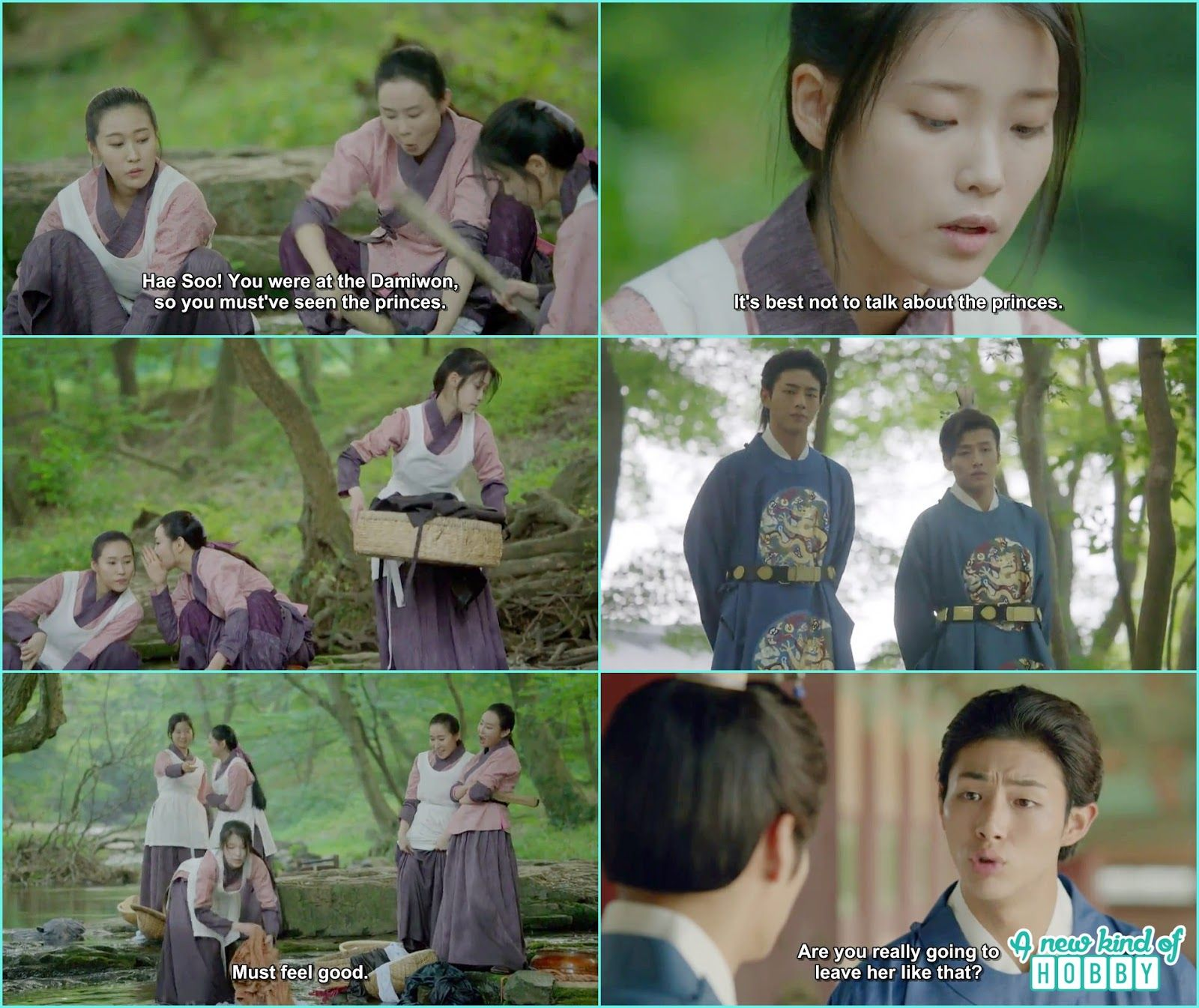 14th prince take 8th prince where hae soo working as the water maid