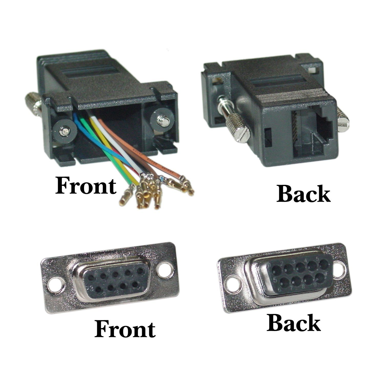 Cable Wholesale Db9 Female Rj45 Color Black Network Cable Computer Accessories Cable