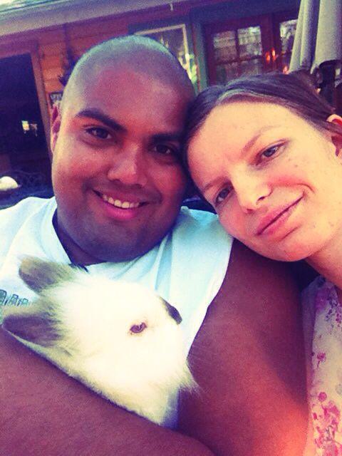 I love u so much hunny  and u to mo mo my favorite bunnys