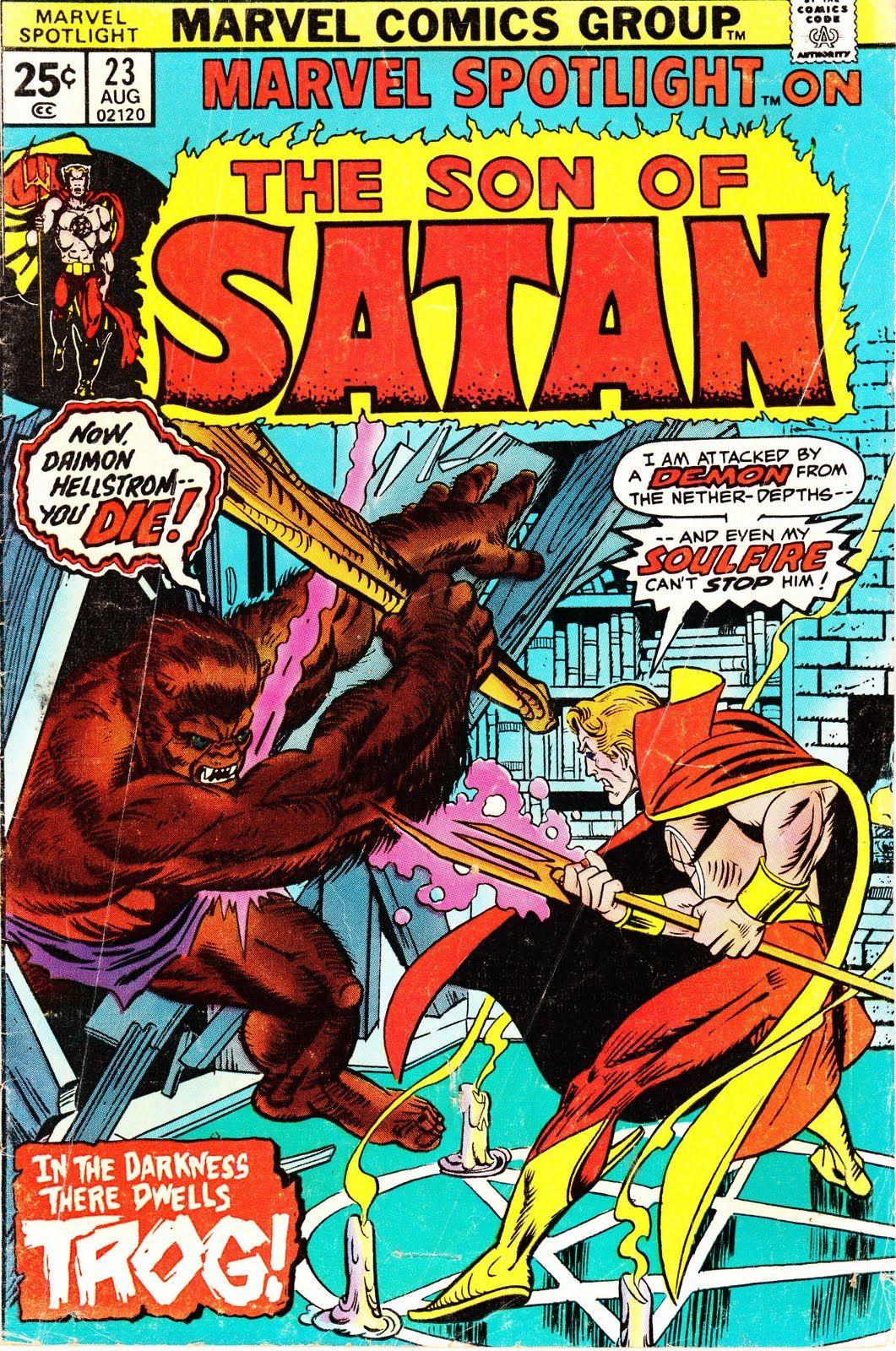 Classic Son of Satan Comic