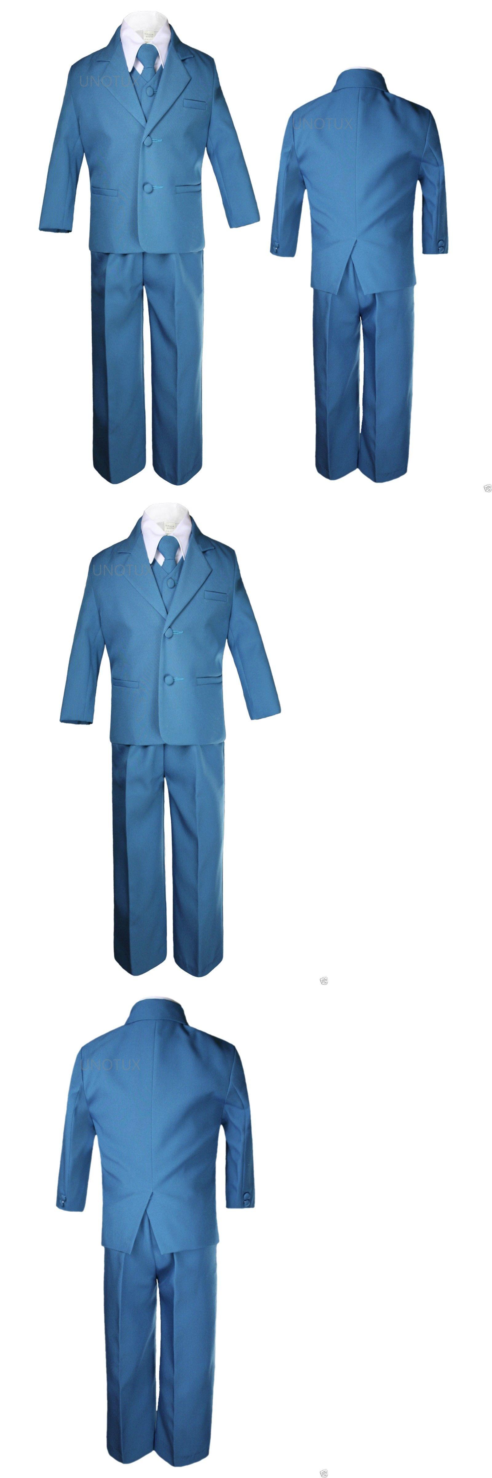 Suits 147337: Baby Toddler Kid Teen Formal Wedding Green Teal ...