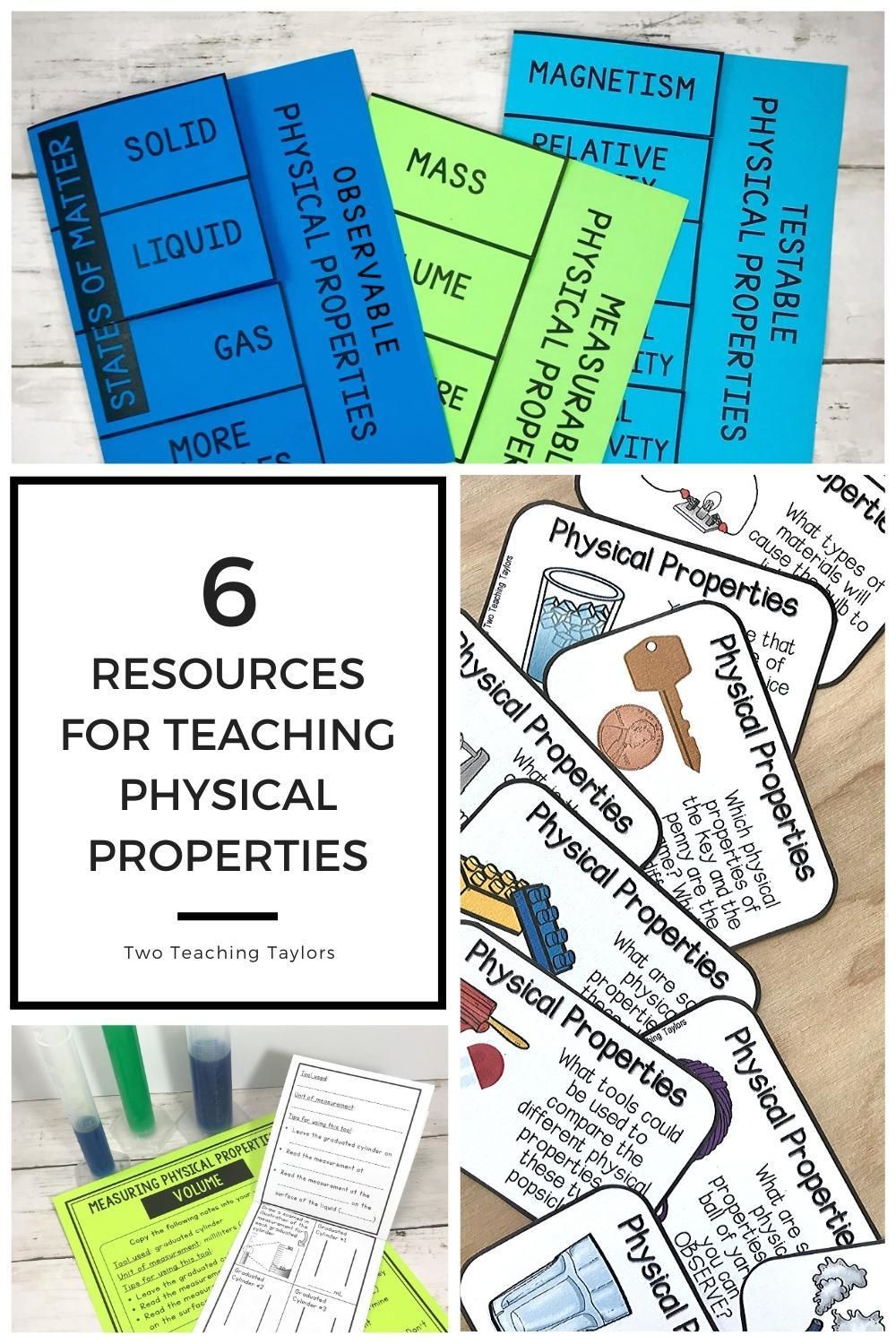 Physical Properties Of Matter Activities Bundle Physical Properties Of Matter Physical Properties Elementary Lesson