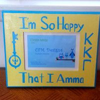 Kappa Kappa Gamma Frame Sorority Art Painted Picture Frame Kkg For