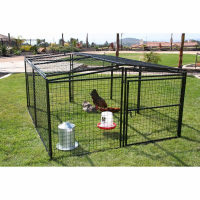 Rugged Ranch Universal Welded Wire Pen Measures 7ft X 8ft X 48in Constructed Of 2 X 2 Welded Wire The Welded Wire Top Dog Pen Dog Playpen My Pet Chicken