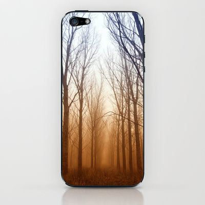 Niebla en el bosque iPhone & iPod Skin by unaciertamirada - $15.00