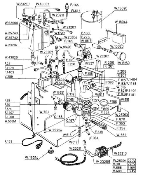 Espresso machine schematic | machine in 2019 | Coffee