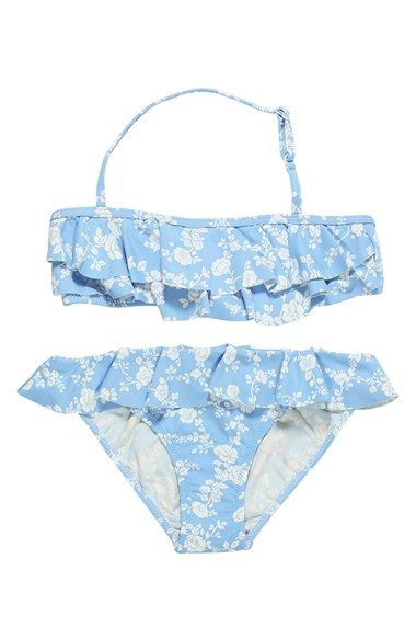 36ba750a5d Stella Cove Ruffle Two-Piece Swimsuit (Big Girls) | Family vacay ...