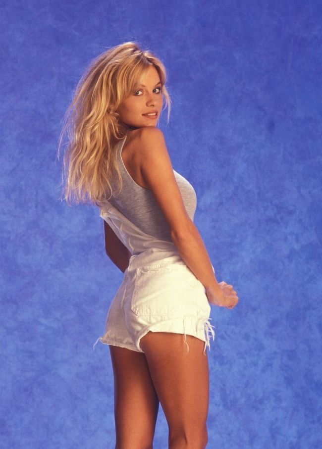 Pam Anderson Pamela Early 90s Beach Shoot Inspiration