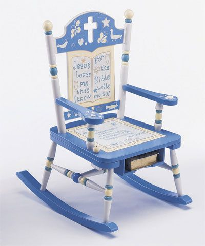 U0027Jesus Loves Meu0027 Rocking Chair    ChristianGiftsPlace.com Online Store.  This Store Has So Many Gift Ideas For Babies And Adults Both!
