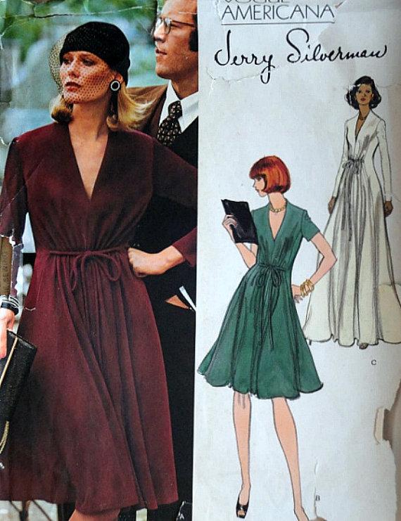 a36f9f4880a67 Vintage 70 s Vogue Americana Jerry Silverman 1118 Sewing Pattern ...