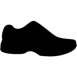a6732636814bb Running Shoe Silhouette FREE SVG | Cricut | Silhouette, Silhouette ...