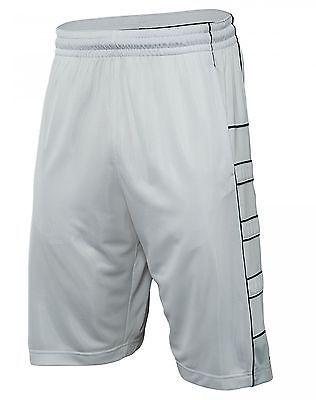 42e50138f7e3c3 Nike Jordan Jumpman Game Mens 724827-100 White Black Basketball Shorts Size  M