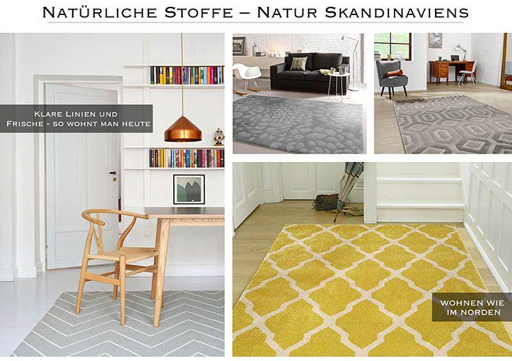 Scandi Look Skandinavische Teppiche Mit Grafischen Mustern Benuta