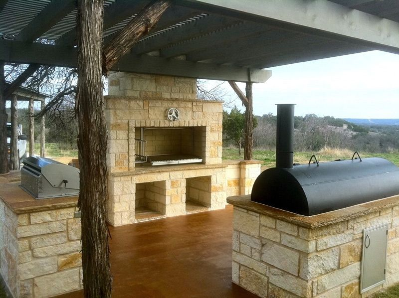 Grillworks Inc Wood Grills   Customer Grill Photos · Wood SmokersGrill Area Patio ...