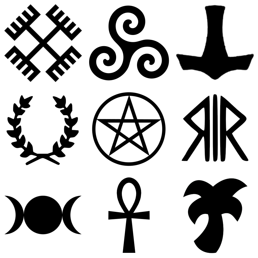 Ancient witchcraft symbols symbols of several neopagan faiths ancient witchcraft symbols symbols of several neopagan faiths buycottarizona Image collections
