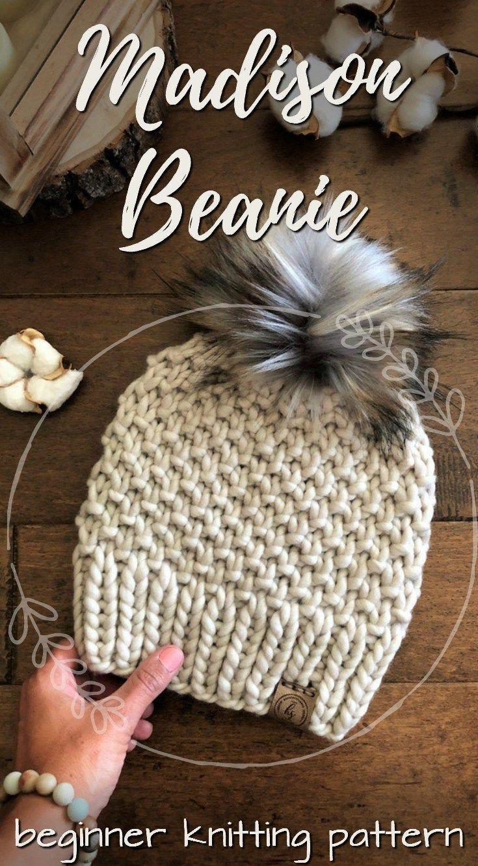 Chunky Knit Hats, , , Diy Abschnitt | bulky yarn knitting ...
