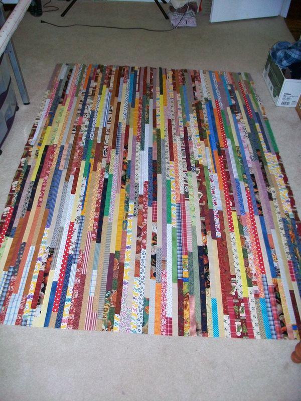 Beautiful Idea For Strip Quilting Creativity Strip