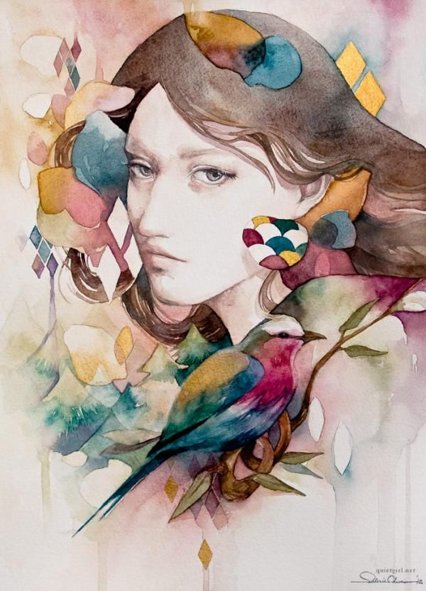 Mixed Media Illustrations By Valerie Ann Chua Artist