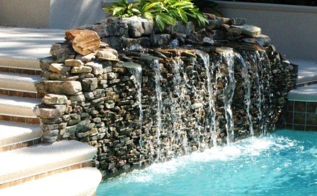 garten wasserfall selber bauen ideen außenbereich gestalten Ev - wasserfall selber bauen