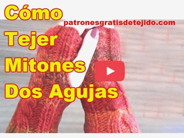 Crochet y Dos agujas: CURSO GRATIS TEJIDO DOS AGUJAS: Cómo tejer ...