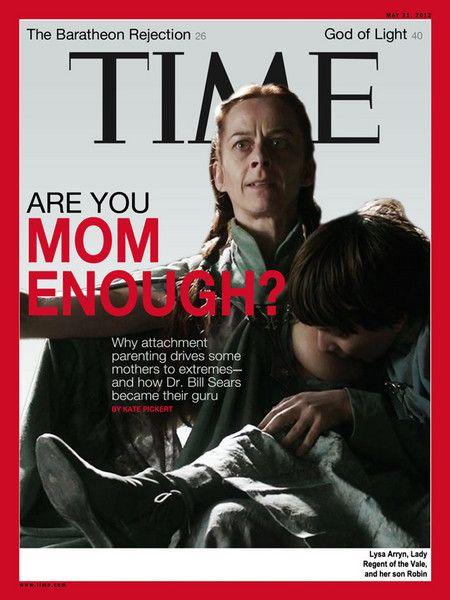 Time Magazine's Alternate Breastfeeding Cover