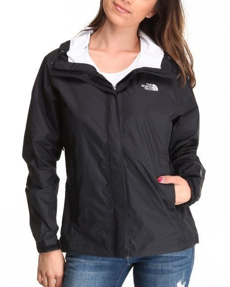 aba72df7e North Face Womens Venture Jacket Sz Large TNF Black Rain Coat ...