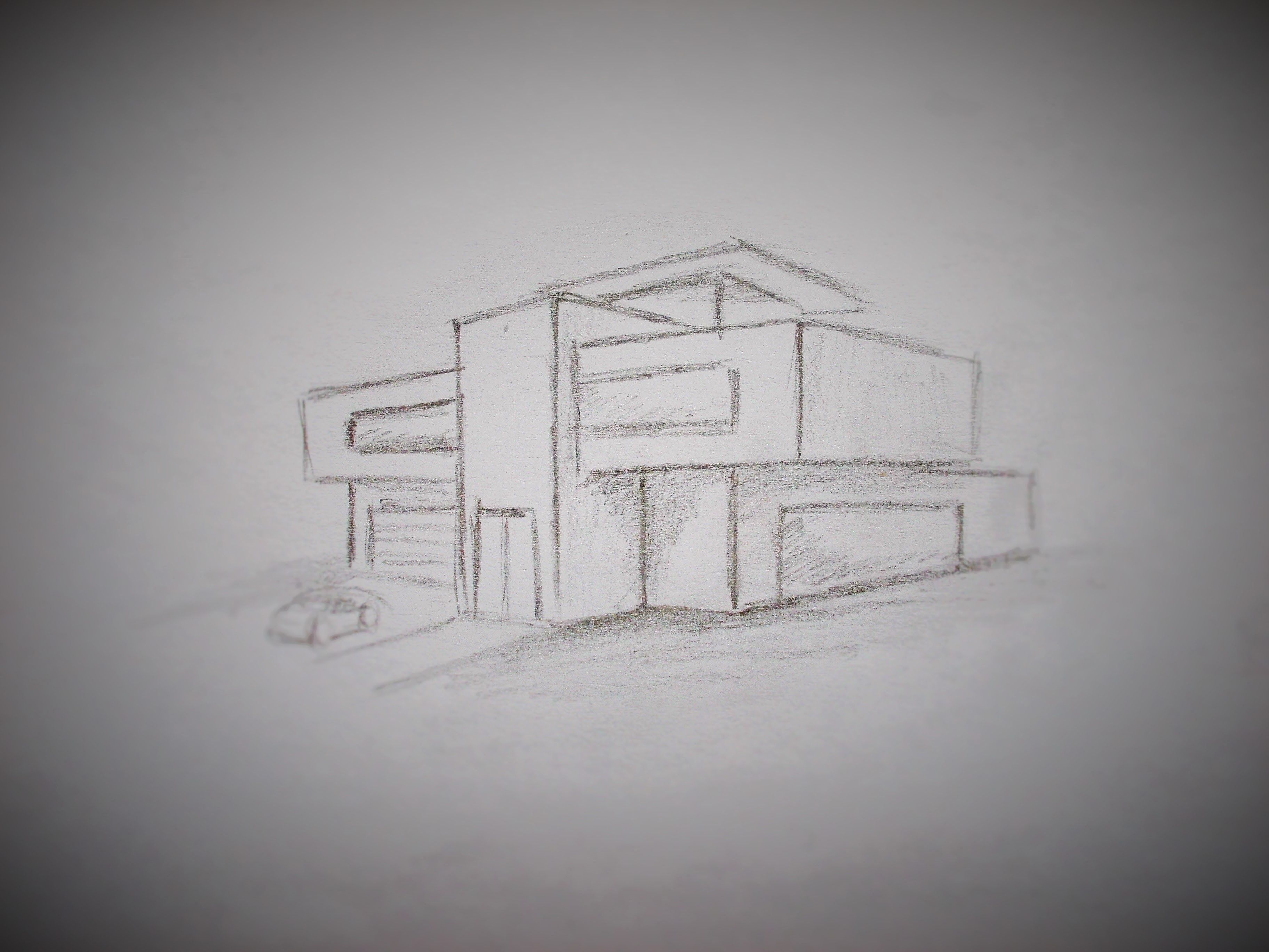 27+ House drawing modern information