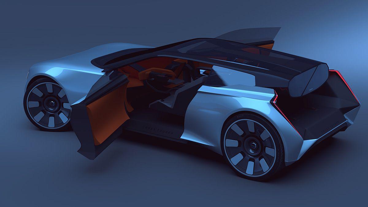 Volvo 480 GT concept on Behance in 2020 Volvo, Volvo