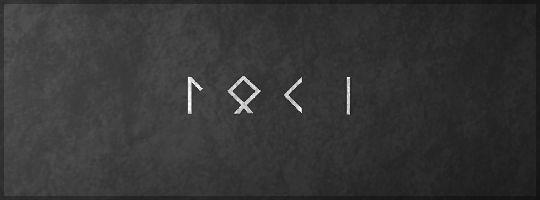 loki in runes - Google Search