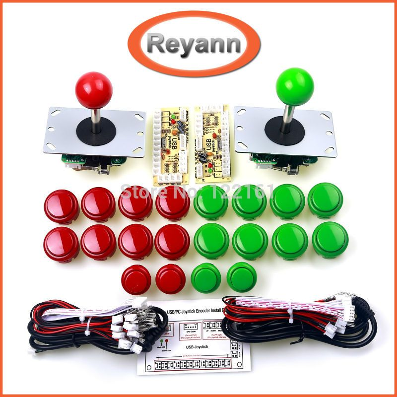 Arcade Joystick DIY Kit Zero Delay USB Controller PC to