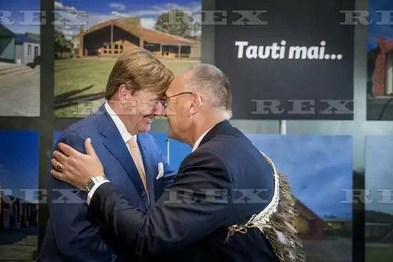 Dutch Royals visit New Zealand - 08 Nov 2016  King Willem-Alexander meeting with the Dutch community at the Art Gallery in Christchurch  8 Nov 2016