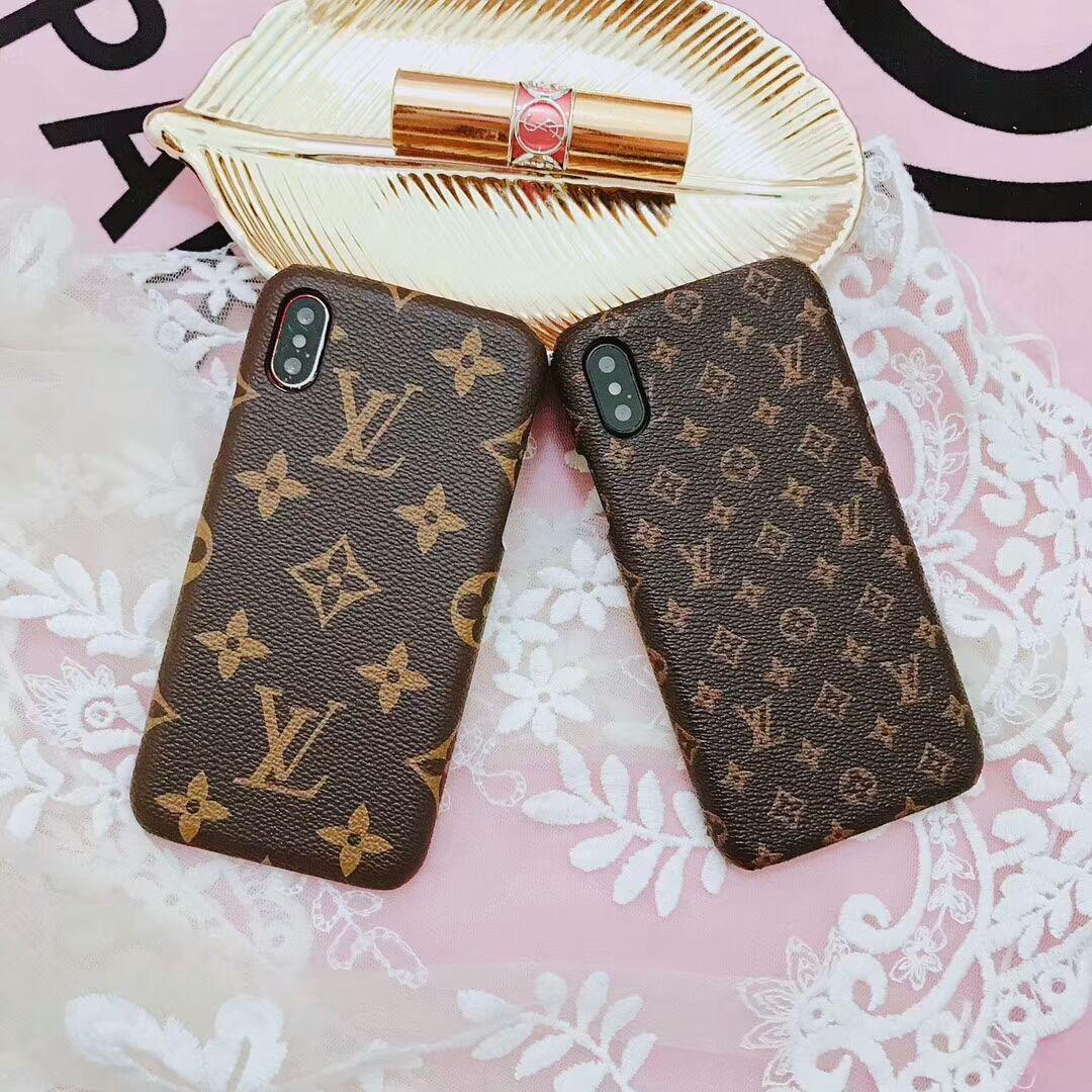 Louis Vuitton Monogram Phone Case Leather Iphone 7 8 6s Plus Classic Phone Case Monogram Monogrammed Phone Cases Iphone Iphone Phone Cases