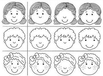 Caras Para Completar Recursos Educativos Preschool Activity Coding For Kids Preschool Learning