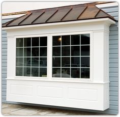 Bumpout House Ideas On Pinterest Copper Roof Bay Windows And Window Bay Window Exterior Bay Window House Exterior
