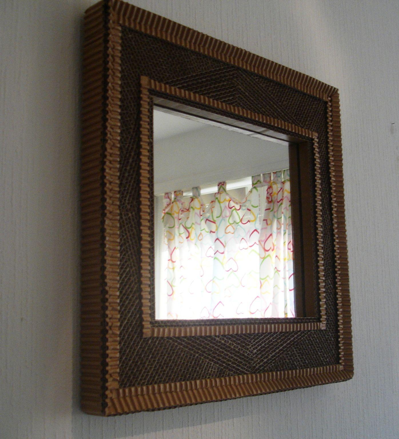 marco de carton | marcos para espejos en carton | Pinterest