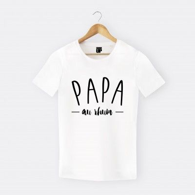 tee shirt papa au rhum homme annonce grossesse pinterest rhum papa et tee shirts. Black Bedroom Furniture Sets. Home Design Ideas