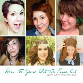 How to grow out a pixie cut, how to grow out your hair fast, how to grow hair fast, how to grow health long hair, how to grow long hair, growing out your hair tips, hair growth tips, The Nautical Owl, Megan Colwell, Growing Out Your Hair