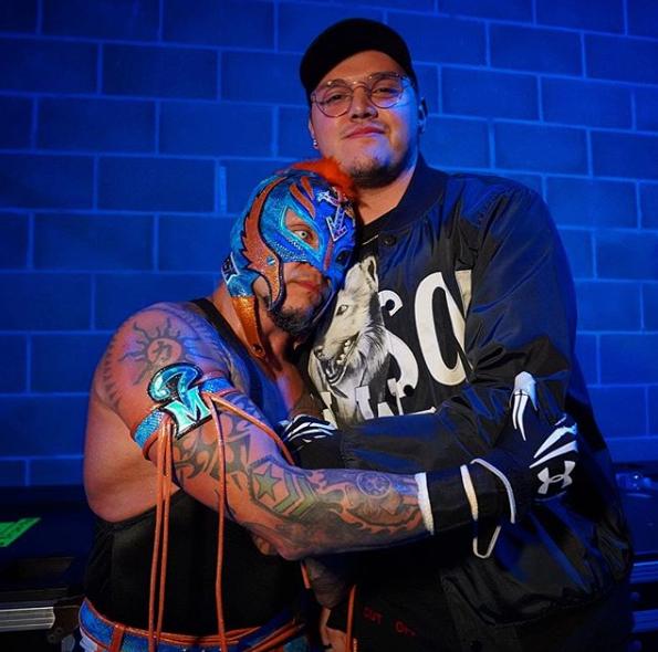 It S All For Dominick Wrestling Stars Wrestling Superstars Mysterio Wwe