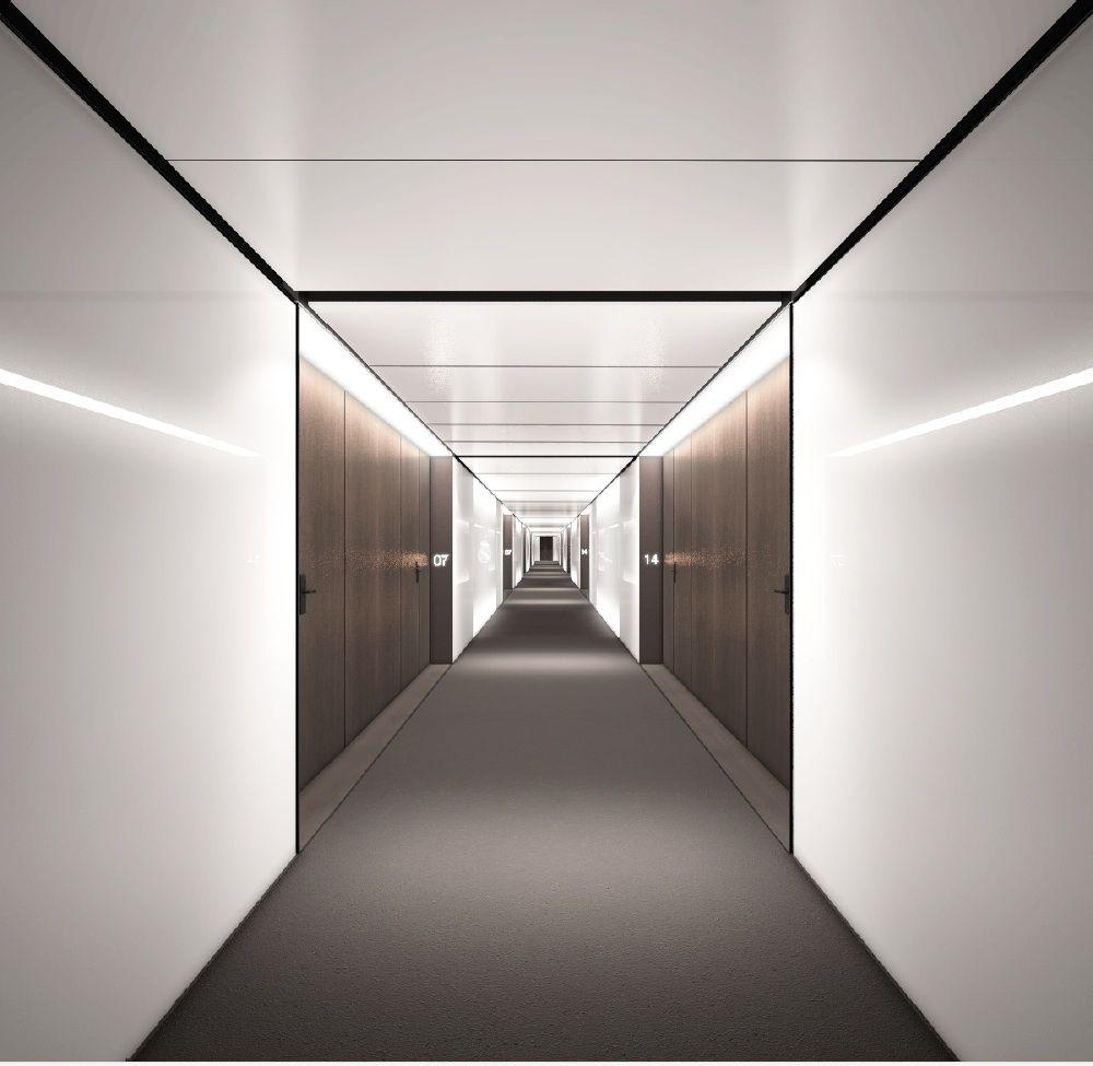 Nuestros for Hotel corridor decor