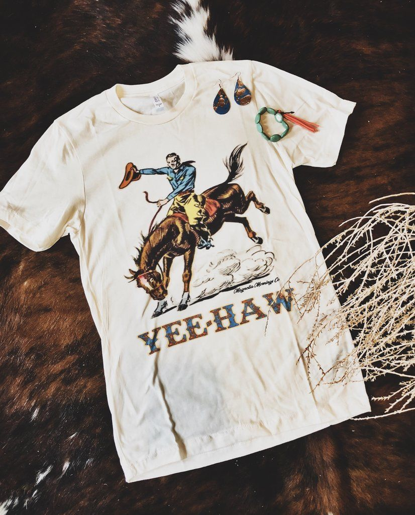 Download Yee Haw Cowboy in 2020 | T shirt, jeans, Country shirts ...