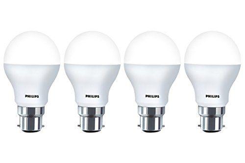 Philips Base B22 9 Watt Led Bulb Pack Of 4 Cool Day Light Priceonline Price Shopping Online Led Bulb Philips Bulb