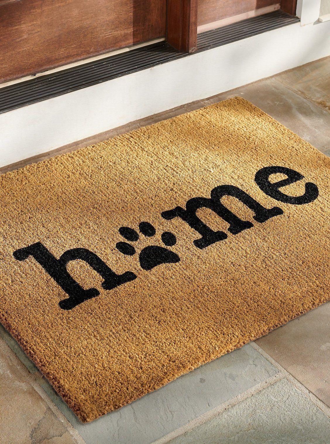 Home paw coir door mat grandin road in 2020 door mat