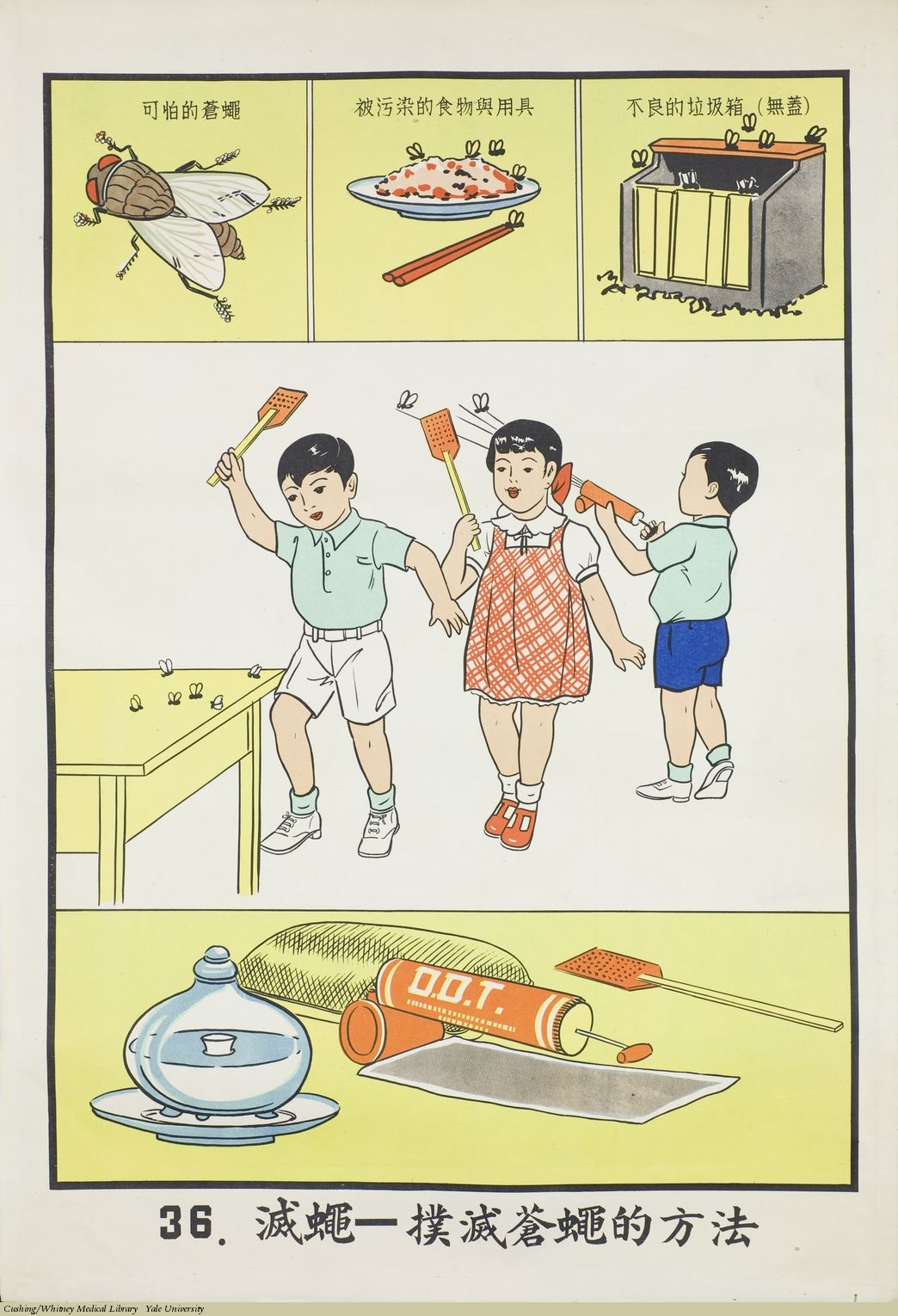 Public Health Poster, Taiwan, 1959. | Diagramatic | Pinterest ...